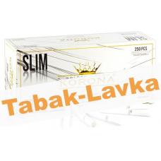 Сигаретные гильзы Korona - Slim WHITE (250 шт.)