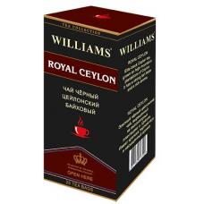 Чай Williams - Royal Ceylon (черный) - (25 пакетиков)