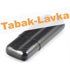 Футляр для 2 сигар - Lubinski Carbon - FK 1383