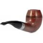 Трубка Peterson Sherlock Holmes - Smooth - Deerstalker P-Lip (без фильтра)