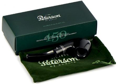 Трубка Peterson Killarney - Ebony 221 (фильтр 9 мм)
