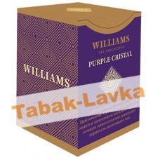 Чай Williams  - Purple Crystal (черный с лепестками сафлора и ароматом личи) - (200 ГРАММ)