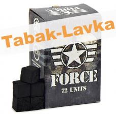 Уголь для кальяна FORCE 72 шт