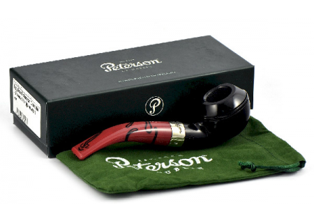 Трубка Peterson Dracula - Ebony 999 (фильтр 9 мм)