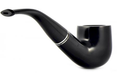 Трубка Peterson Killarney - Ebony 01 (без фильтра)