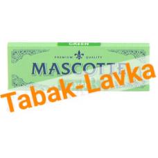 Бумага самокруточная Mascotte 70 mm (Green)