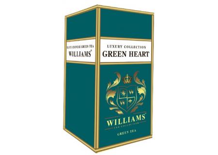 Чай Williams - Luxury Collection - Green Heart (Зеленый) - (125гр)