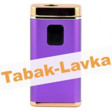 Электроимпульсная Зажигалка Xintail с Power-Банком и фонариком - LA-1122 - Purple