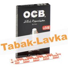 Фильтры для самокруток 5.7 мм OCB Extra Slim Premium (в коробке) - 54 шт.