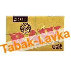 Бумага самокруточная RAW - DOUBLE Classic (100 шт)
