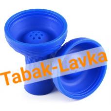 Чашка для кальяна Силиконовая JL-201P (под калауд) - Синяя