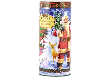 Чай Williams - Merry Christmas - Прекрасный Праздник (зеленый с фруктами) - (Банка 125гр)