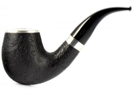 Трубка Brebbia - Italia - Sabbiata Nera 60 (фильтр 9 мм)