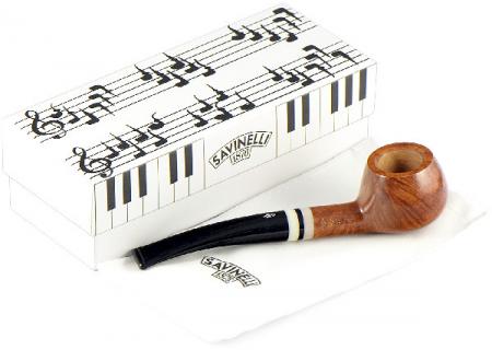 трубка Savinelli Pianoforte - Smooth KS 315 (6 мм фильтр)