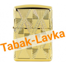Зажигалка Zippo 29671 - Armor™ - Luxury Diamond - High Gold Plate