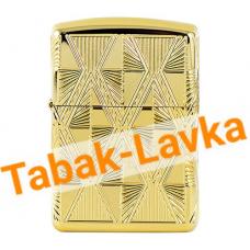 Зажигалка Zippo 29671 - Armor™ - Luxury Diamond - High Gold Plate