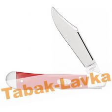 Нож перочинный Zippo - Red Synthetic Smooth Mini Copperlock + Зажигалка (50530_207)