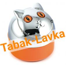 Пепельница - Арт. 11580 - Кошка (Оранжевая)