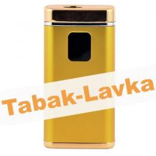 Электроимпульсная Зажигалка Xintail с Power-Банком и фонариком - LA-1122 - Gold