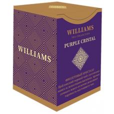 Чай Williams - Purple Crystal (черный с лепестками сафлора и ароматом личи) - (100гр)