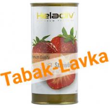Чай Heladiv Черный - Strawberry (банка 100гр)