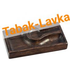 Пепельница для трубки из массива дуба - Арт. 01 (коричневая)