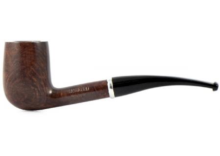 трубка Savinelli Tandem Smooth - 112 (без фильтра) - 2 мундштука