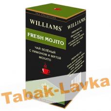 Чай Williams - Fresh Mojito (зеленый с лимоном и мятой мохито) - (25 пакетиков)