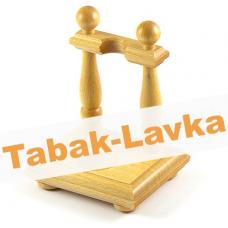 Подставка  деревянная - Barok на 1 трубку (светлая)
