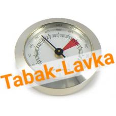 Гигрометр круглый (серебро) - Арт.606