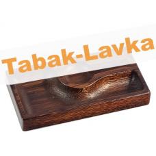 Пепельница для трубки из массива дуба - Арт. 05 (красно-коричневая)