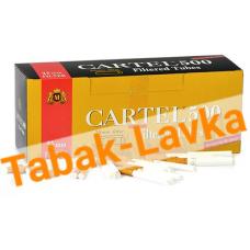 Сигаретные гильзы Cartel - 25 mm filter (500 шт.)