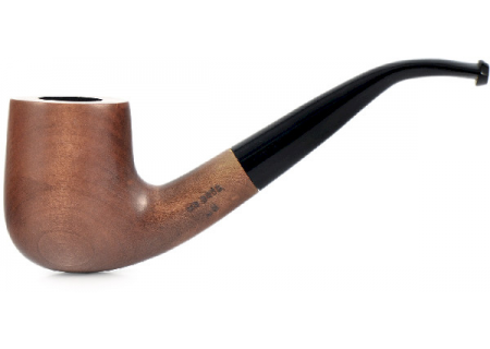 Трубка Mr. Brog - груша - 38 (D) Old Boy Gold (без фильтра)