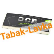 Бумажные фильтры для самокруток OCB Filter Tips Curved XXL - (изогнутая) - (34 шт.)